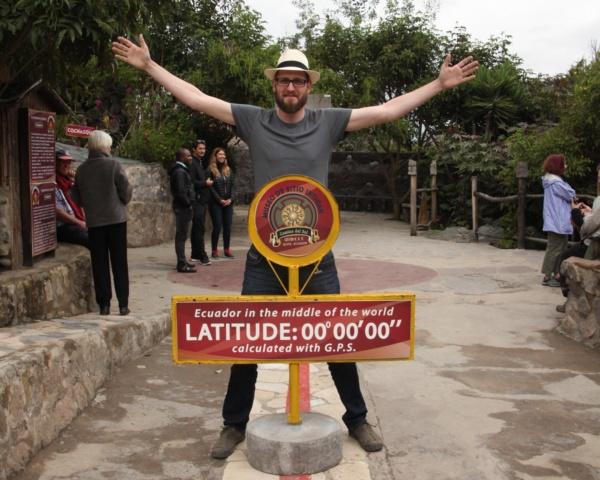 Christian Rehse unterwegs in Ecuador