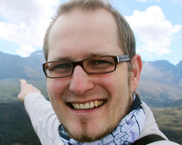 Christian Rehse unterwegs in Kolumbien