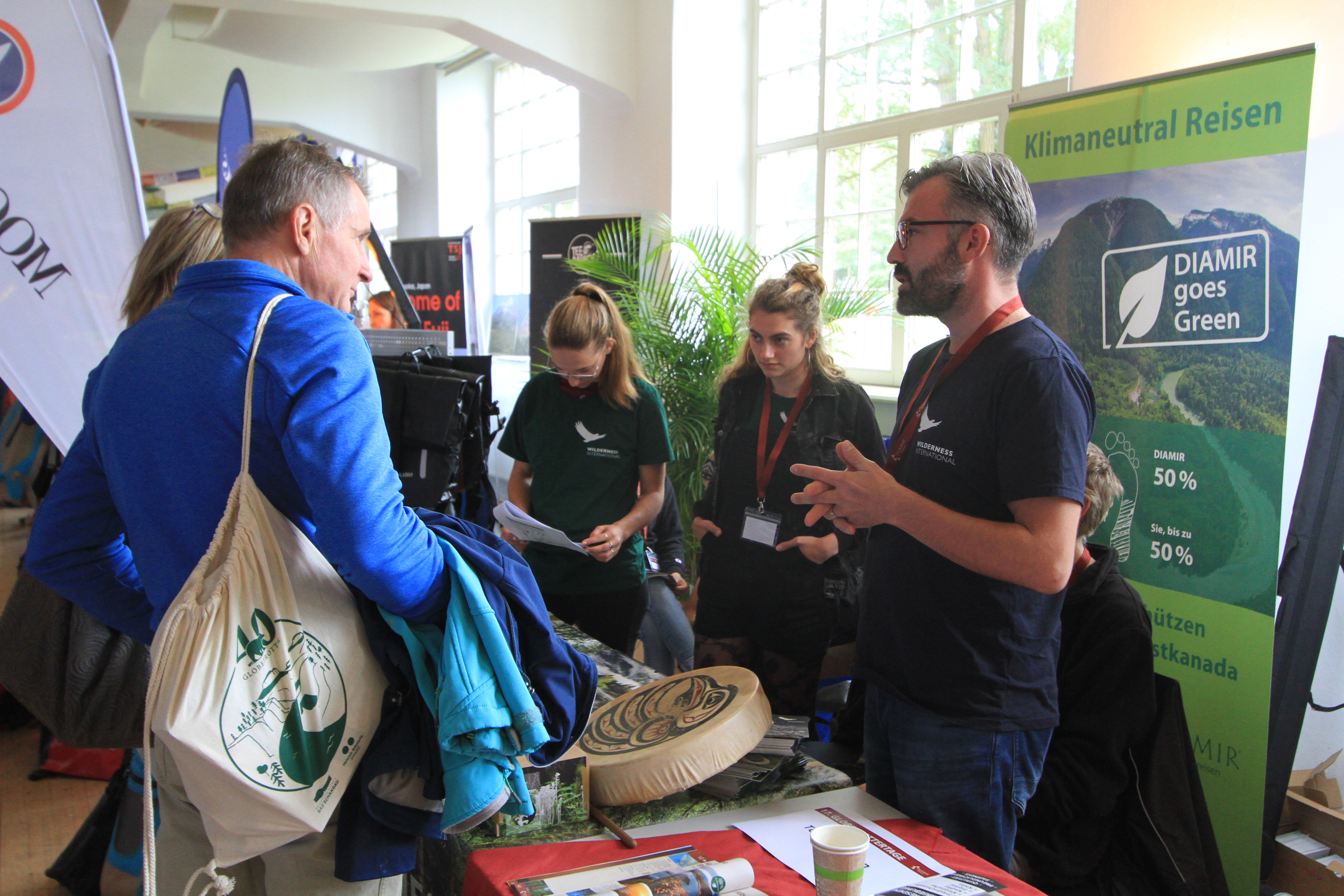 Nachhaltigkeitspartner Wilderness International zu Gast bei den DIAMIR-Globetrottertagen